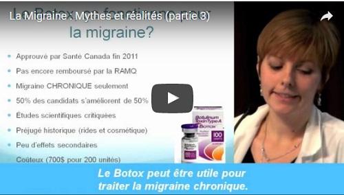 La Migraine : Mytes et réalités (partie 3)