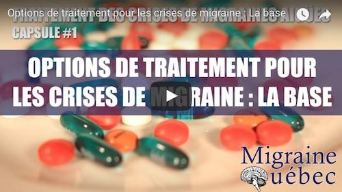 Options de traitement pour les crises de migraines