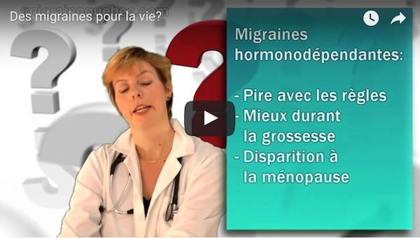 Des migraines pour la vie?