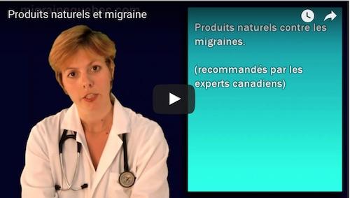 Produits naturels et migraine