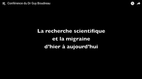 La recherche scientifique et la migraine d'hier à aujourd'hui