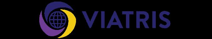 Logo de Viatris , partenaire de Migraine Québec
