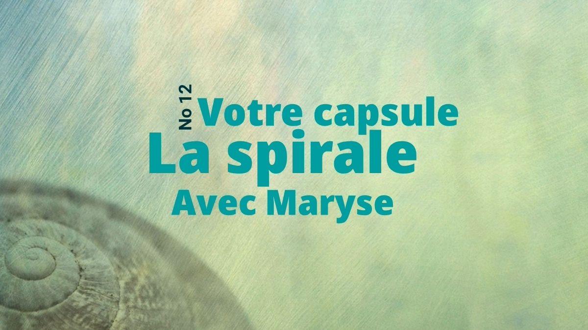 Capsule No 12 Spirale 𝐆𝐘𝐑𝐎𝐊𝐈𝐍𝐄𝐒𝐈𝐒®