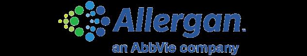 Logo de Allergan – AbbVie , partenaire de Migraine Québec